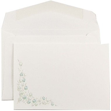JAM PaperMD – Ensemble d'invitations de Quinceanera, petit, 4 7/8 x 3 3/8, 100/paquet