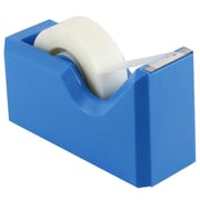 JAM Paper® Modern Tape Dispenser, Blue, Sold Individually (338BU)