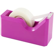 JAM Paper® Modern Tape Dispenser, Pink, Sold Individually (338PI)