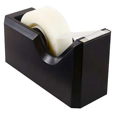 JAM Paper® Modern Tape Dispenser, Black