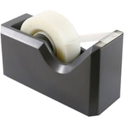JAM Paper® Modern Tape Dispenser, Grey, Sold Individually (338GY)