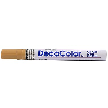 JAM Paper® Broad Point Opaque Paint Marker, Rose Wood (526300RW)