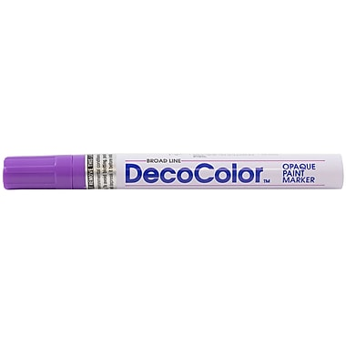 JAM Paper® Broad Point Opaque Paint Marker, Hot Purple (526300HP)