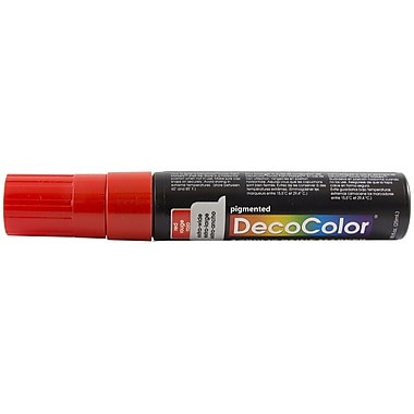 JAM Paper® Jumbo Point Acrylic Paint Marker, Red (526415RE)