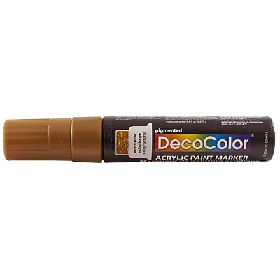 JAM Paper® Jumbo Point Acrylic Paint Marker - Brown - Sold Individually