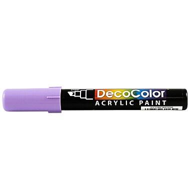 JAM Paper® Chisel Tip Acrylic Paint Marker, Wisteria Purple (526315WIS)