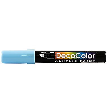 JAM Paper® Chisel Tip Acrylic Paint Marker - Light Blue - Sold Individually