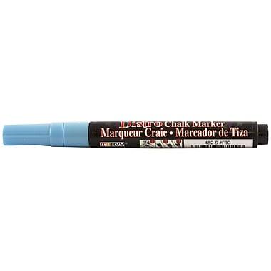 JAM Paper® Fine Point Chalk Marker, Baby Blue (526482BB)