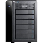 Promise Pegasus2 R6 DAS Array, 6 x HDD Supported, 6 x HDD Installed, 24 TB Installed HDD Capacity, Serial ATA Controller