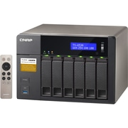 Qnap® 6 Bays Turbo NAS Server, TS-653A-8G-US