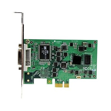 StarTech® HighDefinition PCIe Capture Card, HDMI VGA DVI & Component, 1080P, Functions: Video Capturing, Video Recording
