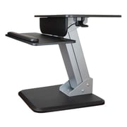"StarTech.com® ARMSTS 30"" Sit-to-Stand Workstation, Black/Silver"