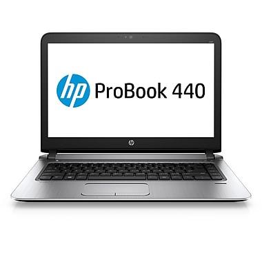 HP – Portatif ProBook 440 G3 W0S53UT#ABA, Intel Core i5-6200U à 2,8 GHz, DD 500 Go, DDR4 4 Go, Win 7 Pro