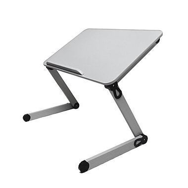 3LT Standing Desk Top Extender, Grey