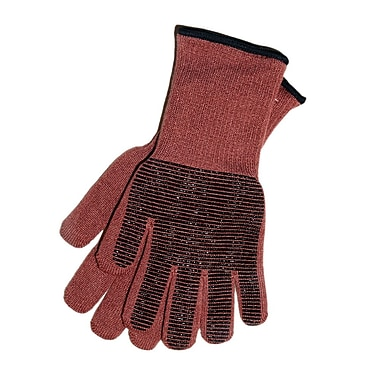 My Gourmet Steam Proof Oven Gloves, Rust, Pair