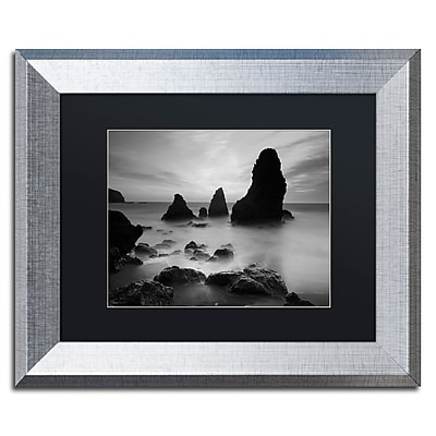 Trademark Fine Art ''Rodeo Beach I Black and White'' by Moises Levy 11