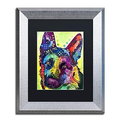 Trademark Fine Art ''German Shepherd'' by Dean Russo 11