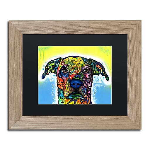 "Trademark Fine Art ''Fiesta'' by Dean Russo 11"" x 14"" Black Matted Wood Frame (886511838307)"