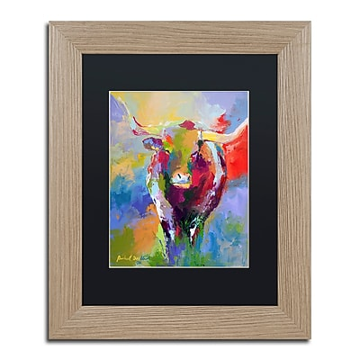 Trademark Fine Art ''Longhorn'' by Richard Wallich 11