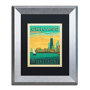 Trademark Fine Art ''Chicago II'' by Anderson Design Group 11