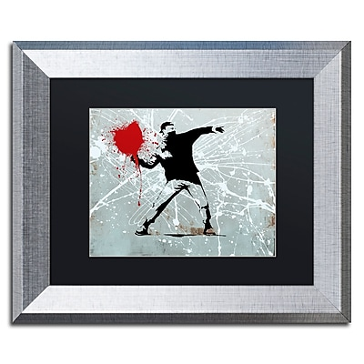 Trademark Fine Art ''Rage'' by Banksy 11
