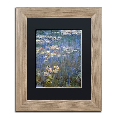 Trademark Fine Art ''Water Lilies IV 1840-1926'' by Claude Monet 11