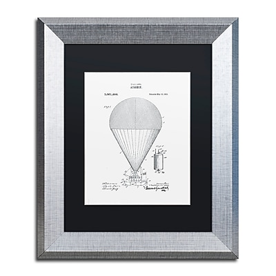 Trademark Fine Art ''Airship Patent 1913 White'' by Claire Doherty 11