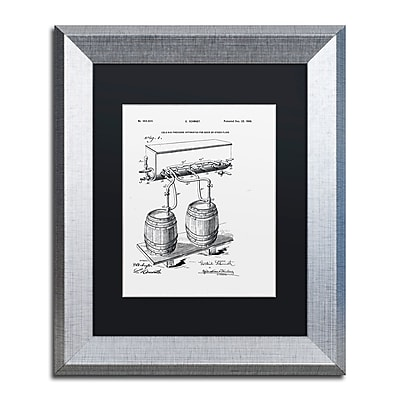 Trademark Fine Art ''Art Of Brewing Beer Patent White'' by Claire Doherty 11