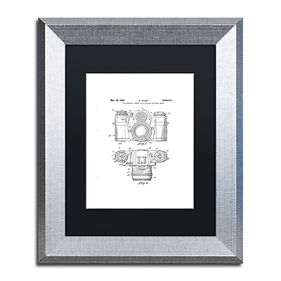 Trademark Fine Art ''Photographic Camera 1962 White'' by Claire Doherty 11
