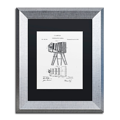 Trademark Fine Art ''Photographic Camera 1885 White'' by Claire Doherty 11