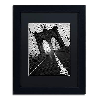 Trademark Fine Art ''Brooklyn Bridge Study I'' by Moises Levy 11