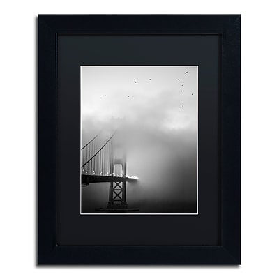 Trademark Fine Art ''Golden Gate and Birds'' by Moises Levy 11