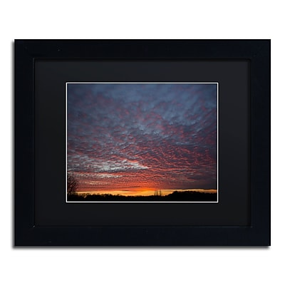 Trademark Fine Art ''Amazing Winter Sunset'' by Kurt Shaffer 11