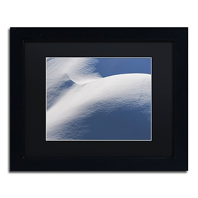 Trademark Fine Art ''Abstract Snow Mound 3'' by Kurt Shaffer 11