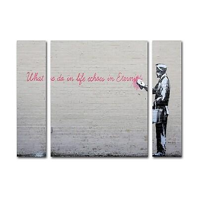 Trademark Fine Art ''Echoes'' by Banksy 24