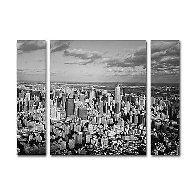 Trademark Fine Art ''Aerial City'' by Ariane Moshayedi 24