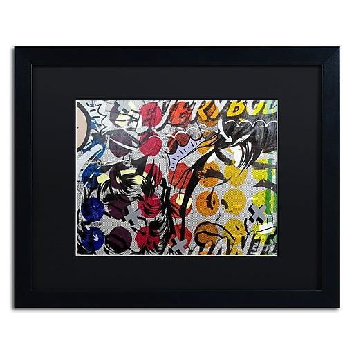 "Trademark Fine Art ''Everybody Wants'' by Dan Monteavaro 16"" x 20"" Black Matted Black Frame (886511779112)"