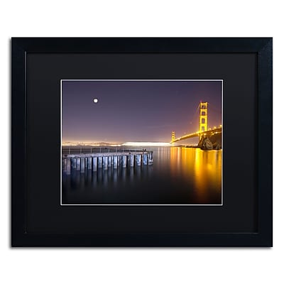 Trademark Fine Art ''Golden Gate Pier and Stars'' by Moises Levy 16