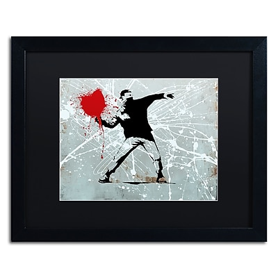 Trademark Fine Art ''Rage'' by Banksy 16