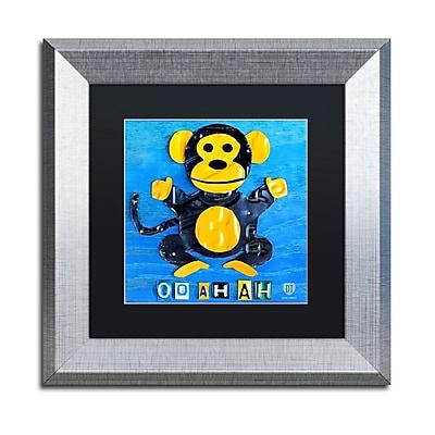 Trademark Fine Art ''Oo Ah Ah the Monkey'' by Design Turnpike 11