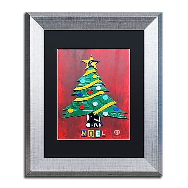 Trademark Fine Art ''Noel Christmas Tree'' by Design Turnpike 11