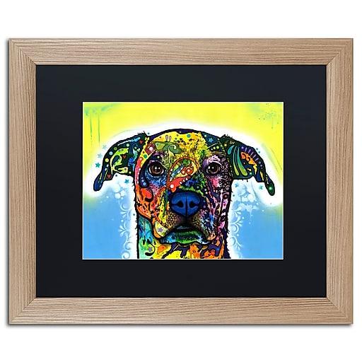 "Trademark Fine Art ''Fiesta'' by Dean Russo 16"" x 20"" Black Matted Wood Frame (886511838321)"