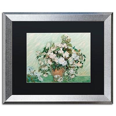 Trademark Fine Art ''Roses 1890'' by Vincent Van Gogh 16