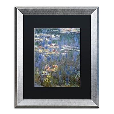Trademark Fine Art ''Water Lilies IV 1840-1926'' by Claude Monet 16
