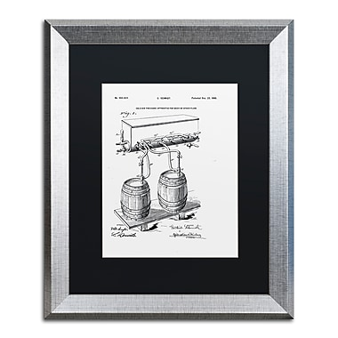 Trademark Fine Art ''Art Of Brewing Beer Patent White'' by Claire Doherty 16