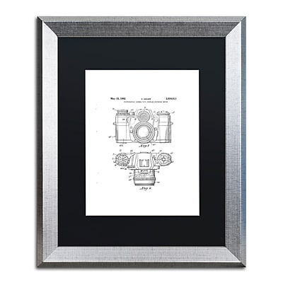 Trademark Fine Art ''Photographic Camera 1962 White'' by Claire Doherty 16