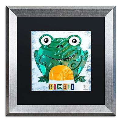 Trademark Fine Art ''Ribbit the Frog'' by Design Turnpike 16