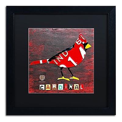 Trademark Fine Art ''Indiana Cardinal'' by Design Turnpike 16