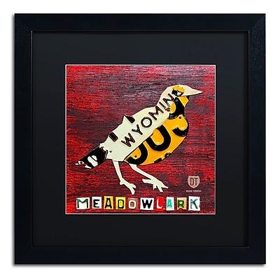 Trademark Fine Art ''Wyoming Meadowlark'' by Design Turnpike 16