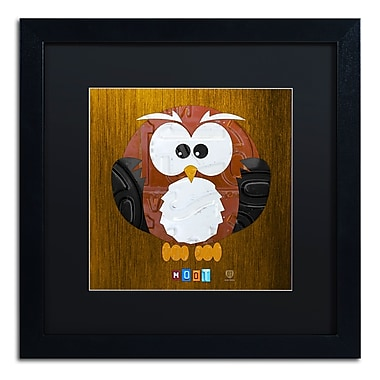 Trademark Fine Art ''Hoot The Owl'' by Design Turnpike 16